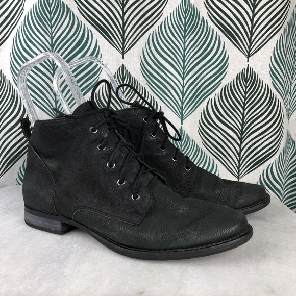 b8654caf70 Sam Edelman Shoes | Mare Women Black Lace Up Ankle Boots | Poshmark